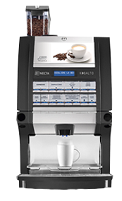 Кафемашина NECTA Kobalto с еспресо, 3 инстантни и прясно мляко