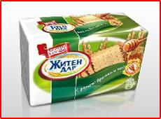 NESTLÉ ЖИТЕН ДАР - Ръжено брашно и мед - здравословни храни от Нестле