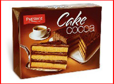 Торта Престиж - тунквана с крем какао