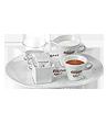 "<p style=""font-size: 15px;""><strong>Сет за кафе</strong></p><p style=""color: #010101;"">Луксозен комплект за сервиране на кафе Carraro, включващ поднос, чашка за кафе, чашка за вода, каничка за мляко и захарничка.</p>"