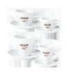 "<p style=""font-size: 15px;""><strong>Порцеланови чаши бели</strong></p><p style=""color: #010101;"">Чаши порцелан Carraro 1927 за еспресо, двойно кафе, капучино и чай.</p>"
