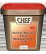 """<p style=""""font-size: 15px;""""><strong>CHEF® Телешки бульон</strong></p><p style=""""color: #010101;"""">Подходящ за приготвяне на вкусни супи, сосове и др. Допълва  вкуса на различните видове сосове. За 4 порции изсипете 20 гр от продукта в 1 л вряща вода и разбъркайте докато заври.<br /> 1 кг / 200 порции.</p>"""