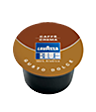"""<p style=""""font-size: 15px;""""><strong>Lavazza BLUE Crema dolce</strong></p><p style=""""color: #010101;"""">Густо долче: Съставен  изцяло от различни сортове Арабика, със сладък привкус и наситен аромат.Съдържание: 9 гр. кафе Лаваца Блу в една капсула.</p>"""