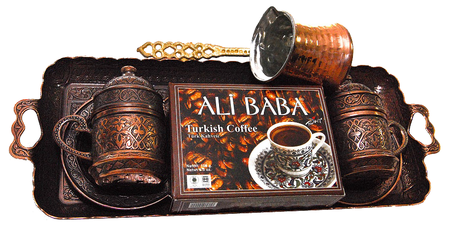 100gr-turkish-coffee-with-metal-coffee-pot-tray-and-2-coffee-cups
