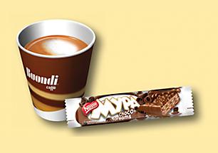 Buondi® Caffé и NESTLE® МУРА® Choco Dreams
