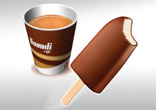 Кафе и донът с шоколад само за 1.69лв.!